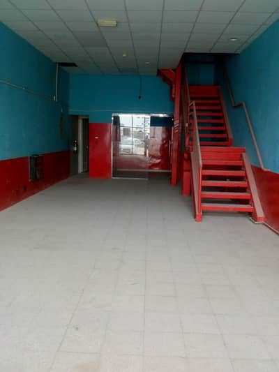 SHOP For RENT 55K in Industrial area 13 .. 2 Month FREE .. Directly From Owner ..NO Commission