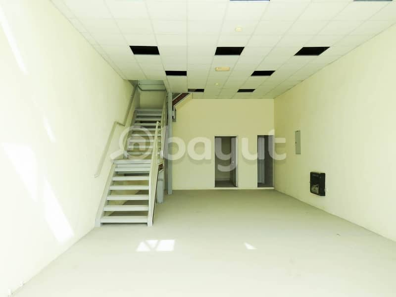 SHOP For RENT 55K in Industrial area 13 . . 2 Month FREE . . Directly From Owner . . NO Commission