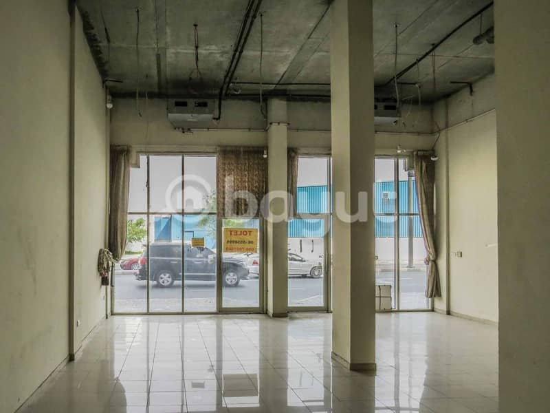 SHOP For RENT 150K in Industrial area 15 . . 2 Month FREE . . NO Commission . . Directly From Owner