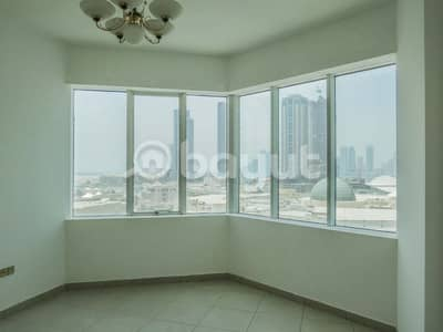 2 Bedroom Flat for Rent in Al Taawun, Sharjah - 2B/R For 37K . . ONE Month FREE . . No Commission . . FREE GYM & Swimming pool