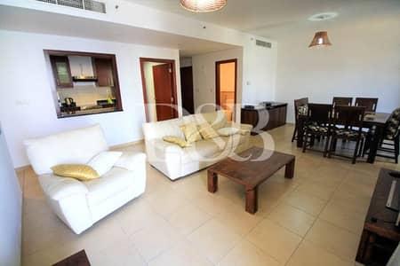 فلیٹ 2 غرفة نوم للايجار في جميرا بيتش ريزيدنس، دبي - Fully Furnished Two BR | Murjan 6 In JBR