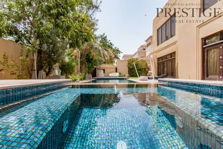 7 Bedroom Villa for Sale in Al Barari, Dubai - Acacia | Extended Plot  20k sqft | Full Gym | Cinema