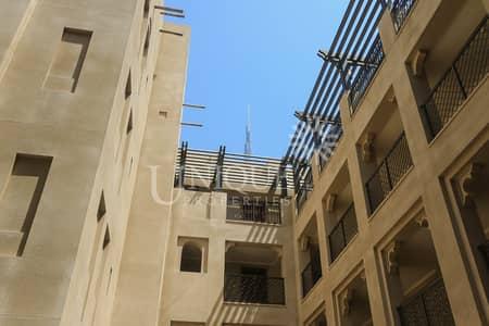 فلیٹ 1 غرفة نوم للايجار في المدينة القديمة، دبي - Fully Furnished| Walk-In Closet|Private Garden