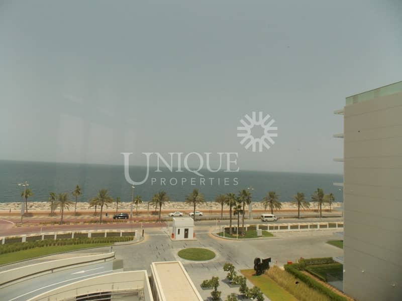 Full Sea View Brand New Bldg with Beach Access