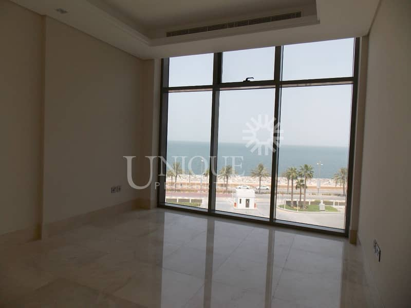 17 Full Sea View Brand New Bldg with Beach Access
