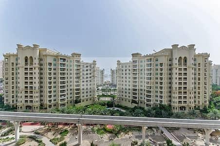 فلیٹ 2 غرفة نوم للايجار في نخلة جميرا، دبي - Beautiful Park View | Higher Floor | Type C 2BR