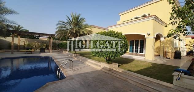 فیلا 4 غرف نوم للايجار في جميرا بارك، دبي - EXCLUSIVE ONE OF A KIND IN MARKET 4BR LRG POOL D4