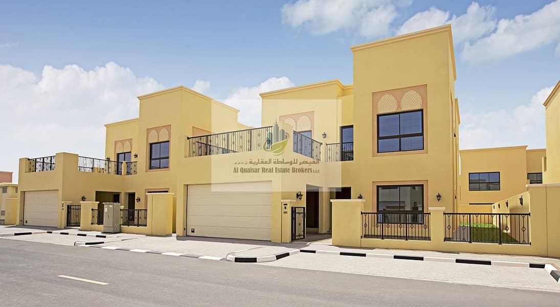 2 Own in Nad Al Sheba at a special price independent villas