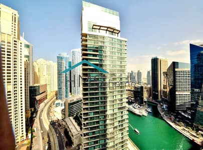 2 Bedroom Apartment for Rent in Dubai Marina, Dubai - Furnished 2BR Sahab 2 Available in August