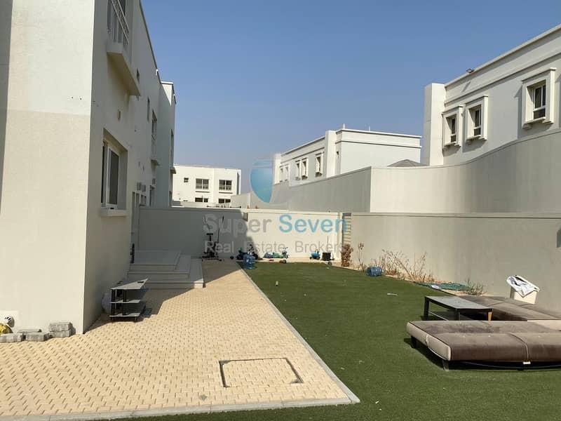 14 Almost New Large 4 Bedroom Villa for rent Barashi Sharjah