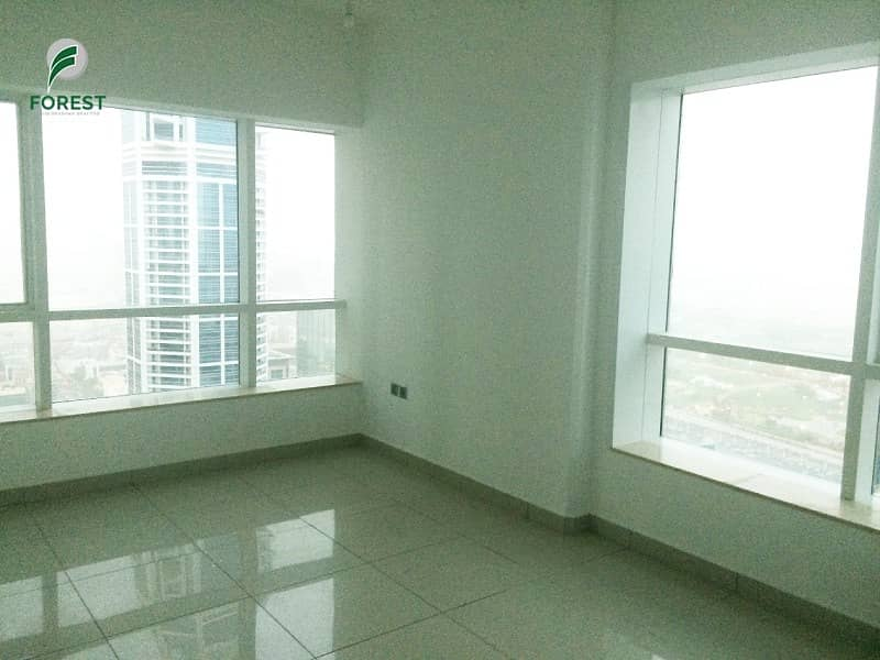 High Floor | Vacant 3BR + M Apt | Balcony View