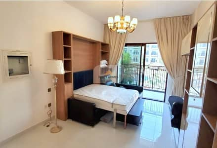 Studio for Rent in Arjan, Dubai - 4CHQS | FULLY FURNISHED STD | BALCONY