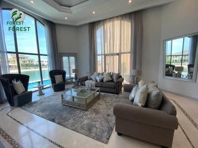 فیلا 4 غرف نوم للايجار في نخلة جميرا، دبي - Fully Furnished | Private Pool | Beach access