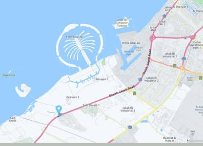 Plot for Sale in Jebel Ali, Dubai - You want to buy land G+4 HOTEL APARTMENTS to invest in Saih Suaib 1 Jabal on the Hills a special location that will pay 6.3 million dirhams negotiable