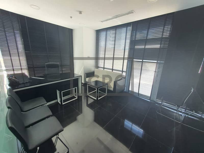11 Partitioned Office | Fully Furnished | Bay sqaure Building 3