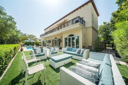 5 Bedroom Villa for Sale in Jumeirah Golf Estate, Dubai - Upgraded Dante | 5 Bed | Golf Course View