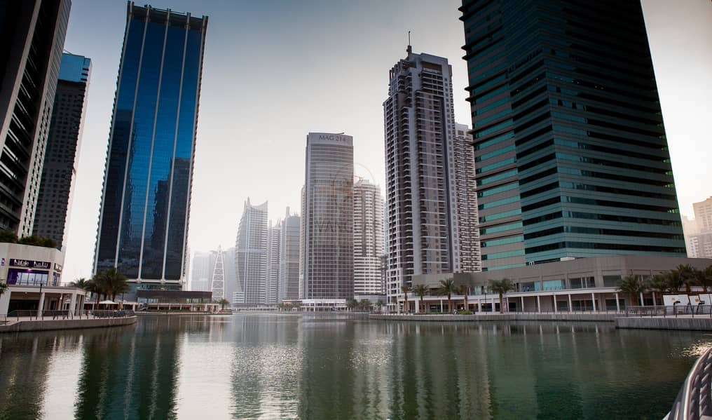 Best Deal! Vacant 2 Bedroom with Lake View  in JLT