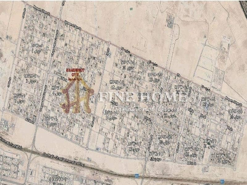 11 Fabulous 6 Villas Compound in Shakhbout city