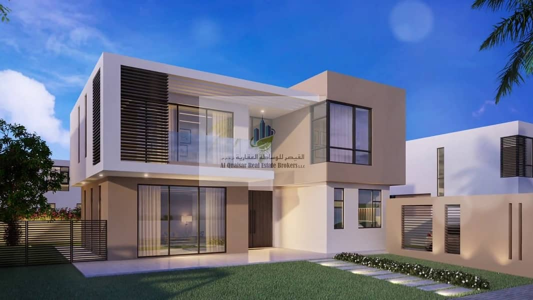 own 3 bedrooms  villa