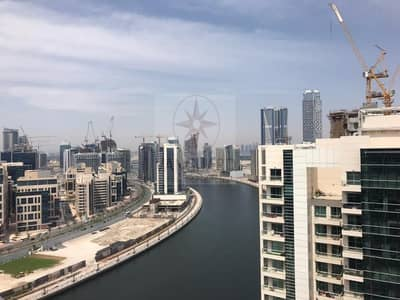 2 Bedroom Apartment for Sale in Business Bay, Dubai - Fully Upgraded 2Br+Study Canal View in Business Bay