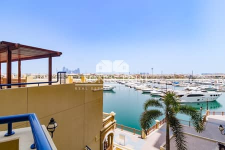 2 Bedroom Flat for Rent in Palm Jumeirah, Dubai - Type C | Large 2 Bedroom with Maid Room | Sea View