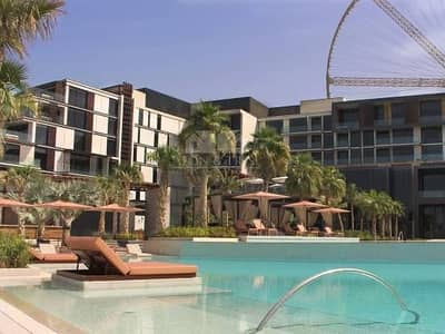 شقة 3 غرف نوم للايجار في جزيرة بلوواترز، دبي - Breathtaking 3BR with Full Sea View on High Floor