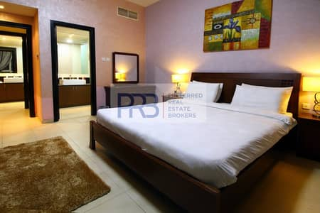 2 Bedroom Flat for Rent in Dubai Marina, Dubai - Fully Furnished 2 BR w/ balcony no commission