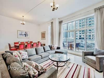 5 Bedroom Villa for Sale in Dubai Marina, Dubai - Fully Furnished   Partial Marina View   Vacant