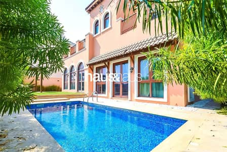 4 Bedroom Villa for Sale in Jumeirah Golf Estate, Dubai - Golf Course View | Private Pool | One Month Free