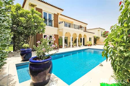 فیلا 5 غرف نوم للبيع في جرين كوميونيتي، دبي - Family Villa | Immaculate Condition | Private Pool