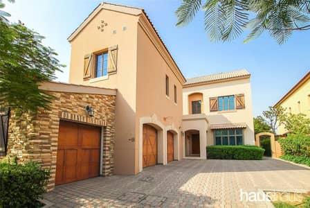 فیلا 5 غرف نوم للايجار في عقارات جميرا للجولف، دبي - Fire Golf Course views | Pinehurst style