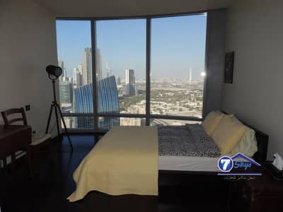 2 Bedroom Flat for Rent in Downtown Dubai, Dubai - Very Large Unfurnished 2 BR in Burj Khalifa