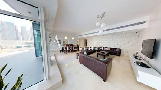 Vacant 4 BR + Maid Duplex with Amazing Marina View