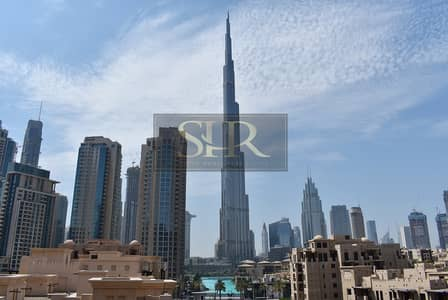 3 Bedroom Flat for Rent in Old Town, Dubai - Bright and Spacious | 3 Bedroom + Maid| Full Burj Khalifa View