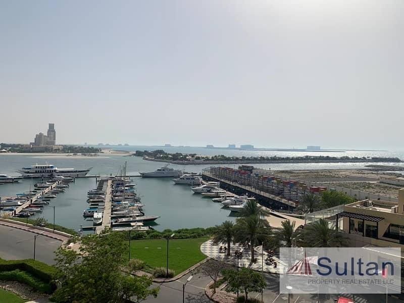 2 Partial Sea View 3 Bedroom+Maids in Marina