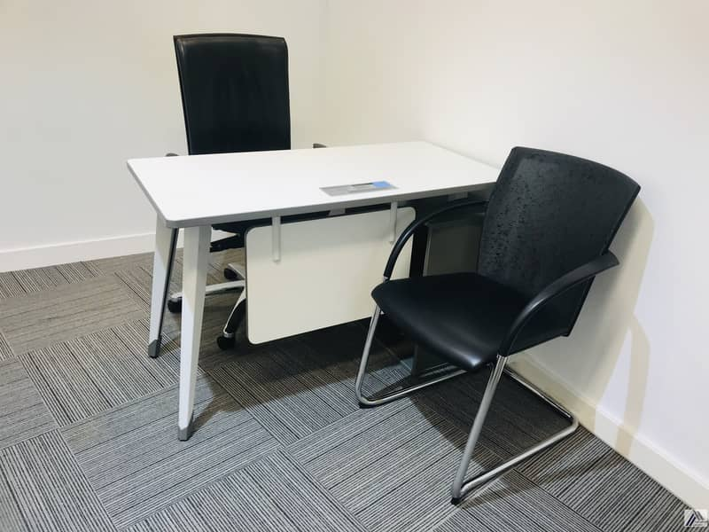 2 Book Your Smart & Furnished Office Suitable for 2 Staff Only 20k Yearly