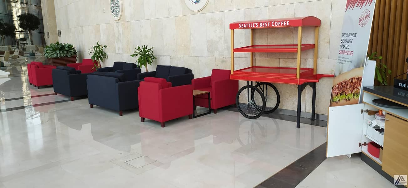 20 Book Your Smart & Furnished Office Suitable for 2 Staff Only 20k Yearly