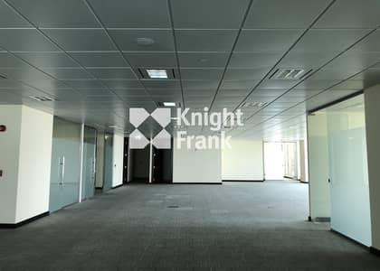 مکتب  للايجار في منطقة الكورنيش، أبوظبي - Fitted Office for Lease / Seaview / Corniche Abu Dhabi