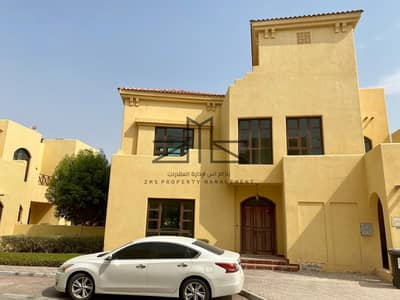 4 Bedroom Villa for Rent in Sas Al Nakhl Village, Abu Dhabi - No Fees   4 Bedrooms villa  Pvt Garden   Facilities 13 Month.