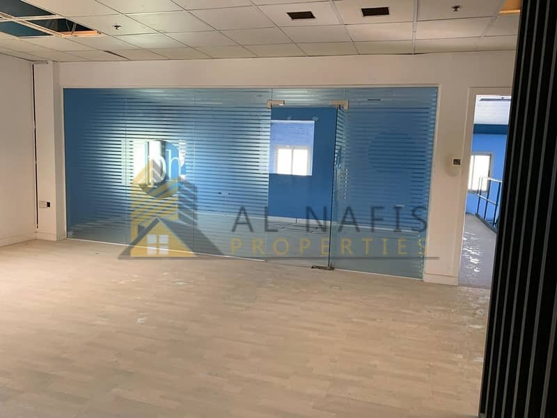 Open Yard I Fitted Offices I Al Qusais