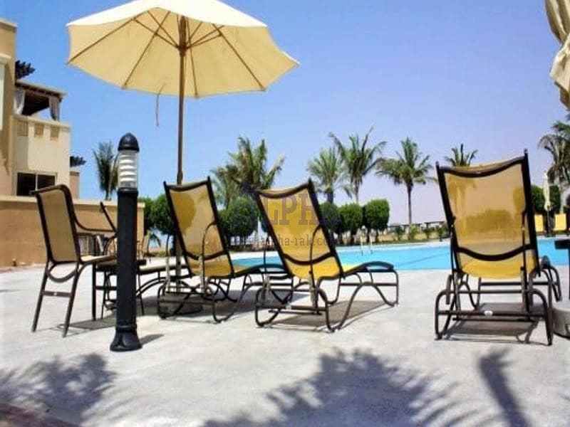10 Sea and Pool View! Studio-Unfurnished