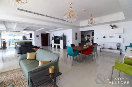 3 Bedroom Apartment for Sale in Dubai Marina, Dubai - Upgraded Layout | Full Sea | 3 Bed + Maid