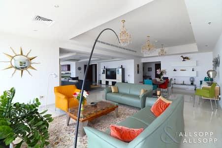 شقة 3 غرف نوم للبيع في دبي مارينا، دبي - Upgraded Layout   Full Sea   3 Bed + Maid