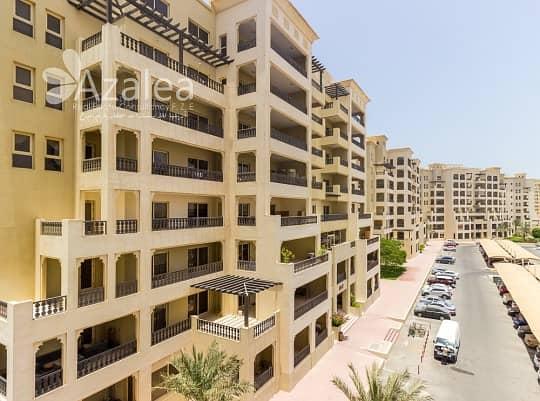 شقة في شقق الحمراء فيليج مارينا قرية الحمراء 2 غرف 57000 درهم - 4685338