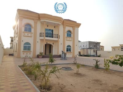 6 Bedroom Villa for Rent in Al Rahmaniya, Sharjah - Brand New 6 Bedrooms Villa Two Majlis + Huge Garden + Parking