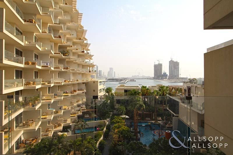2 2 Bed | Sea And Dubai Eye View | Balcony