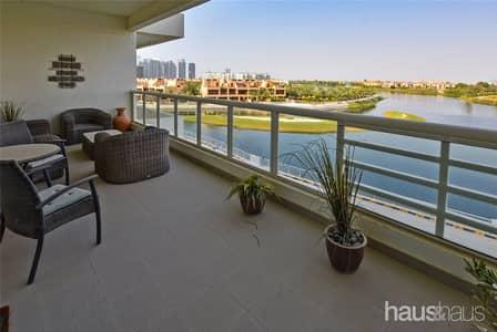 فلیٹ 3 غرف نوم للبيع في تلال الجميرا، دبي - VOT   Full Lake View   3 Bedroom   Maids