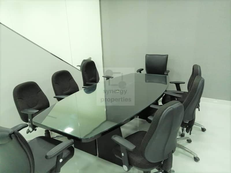 2 Vacant Furnished office in Gold Tower