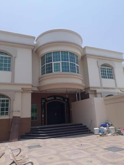 6 Bedroom Villa for Rent in Al Mowaihat, Ajman - Best Deal For Rent Villa on the Street Directly from the Owner/ 5 Master Rooms, Majlis, 2 Hall, Kitchen, Washing Room,