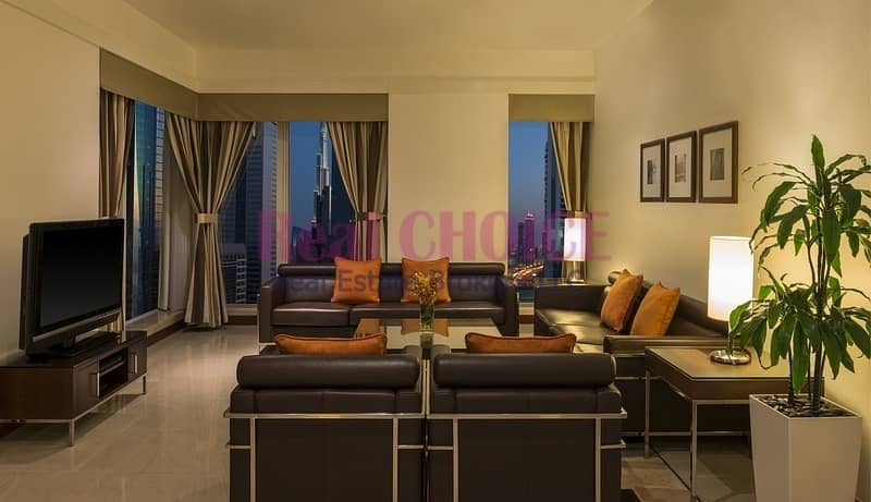 Huge Balcony For 2BR Hotel Apartment|Ready To Move